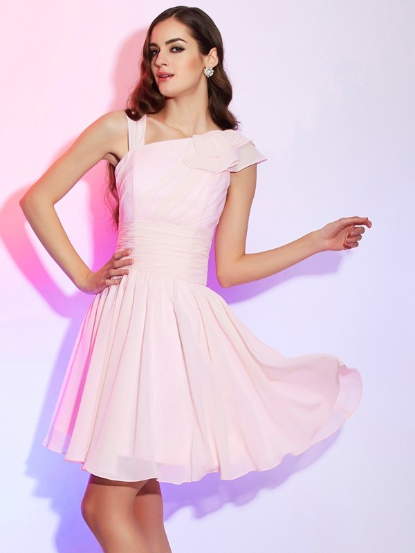 A-Line Other Short/Mini Pink Homecoming Dresses