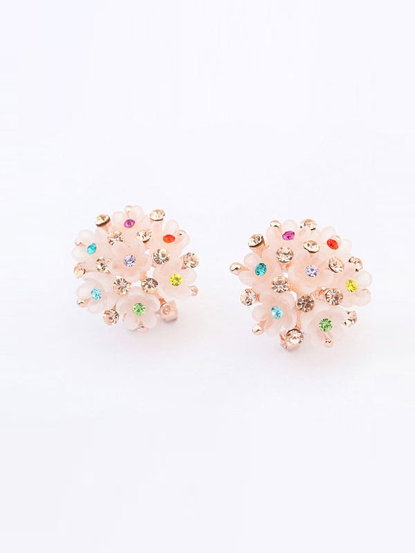 Occident All-match Floret Fashion Ear Clip