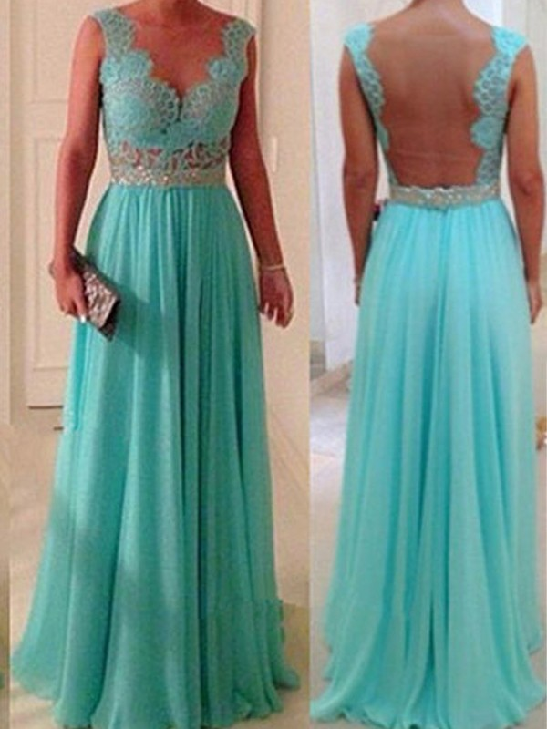 A-Line Sweetheart Floor-Length Green Bridesmaid Dresses with Beading