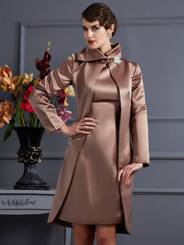 Satin Long Sleeves Special Occasion Fashion Wrap
